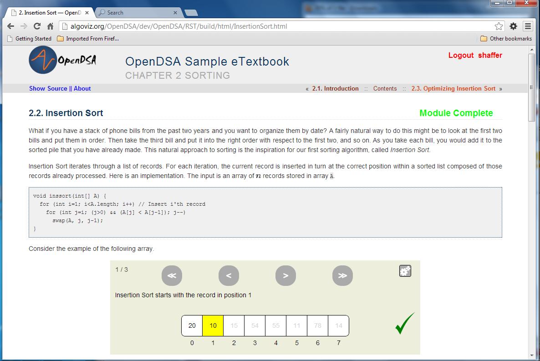 Open DSA